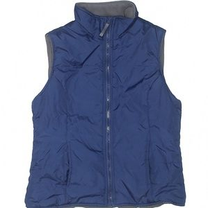 Forever 21 Navy Fall/Winter Vest Small lined